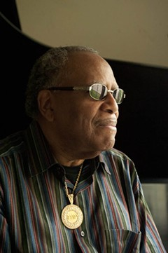 "Lonnie Liston Smith Jr., the oldest son, says his father encouraged his musical  aspirations. ""My dad was a very great man."" - SCOTT ELMQUIST"
