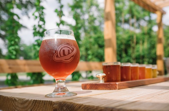 Look for Center of the Universe Brewing Company's beer the next time you visit Virginia beach.
