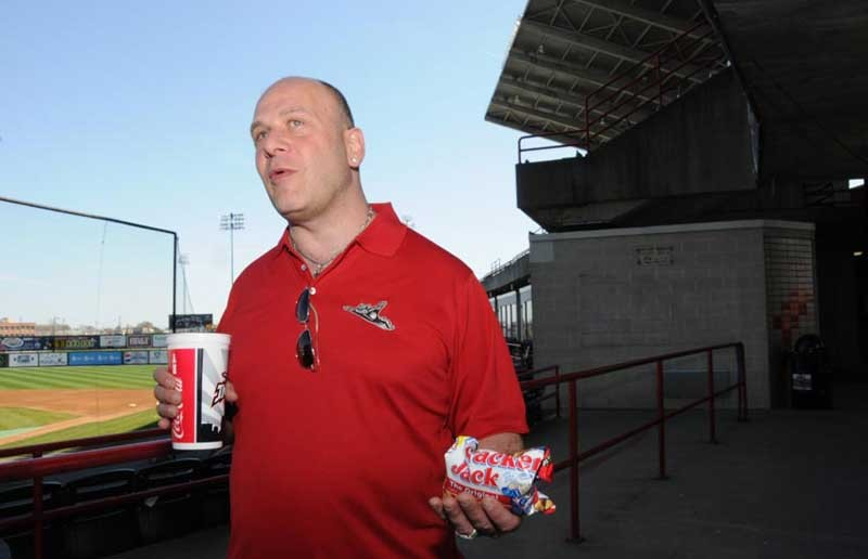 Lou DiBella, managing partner of the Richmond Flying Squirrels, plans to meet with Minor League Baseball's president next week to discuss the team's status in Richmond. - SCOTT ELMQUIST