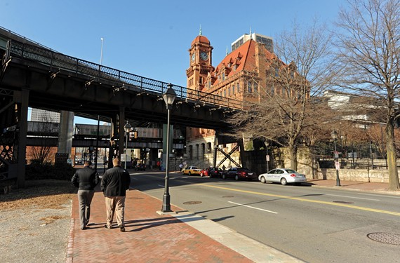 Main Street Station, above, the Poe Museum and Richmond's oldest building, and Masons' Hall from 1785 are among Shockoe Bottom's historic jewels.