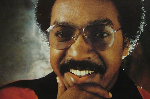 "Major Harris on the cover of his 1978 album, ""How Do You Take Your Love."""