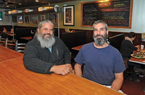 "Manny Mendez and Chris DiLauro may not have appeared in ""Lincoln,"" but they're featured players at their new restaurant C&M Galley Kitchen in Stratford Hills. - SCOTT ELMQUIST"