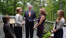 Married by McAuliffe: Governor Applies to Become Civil Celebrant