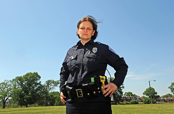 Mary Gary of the Richmond Police Department.