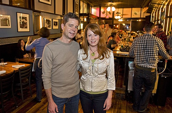 Mathew and Season Appelget are new owners of the Pig and Pearl, an upscale sports bar in the former Republic space at Broad and Allison streets.