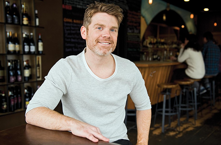 Matt Brehony wins raves not only for articulate, attentive service at Secco, but also for his comic sensibility. His blog,lifeinsandwichform.wordpress.com, takes on the absurdities of restaurants, food trends and our collective obsession with putting things in our mouths. - ASH DANIEL
