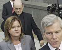 McDonnell Living with Priest in Richmond