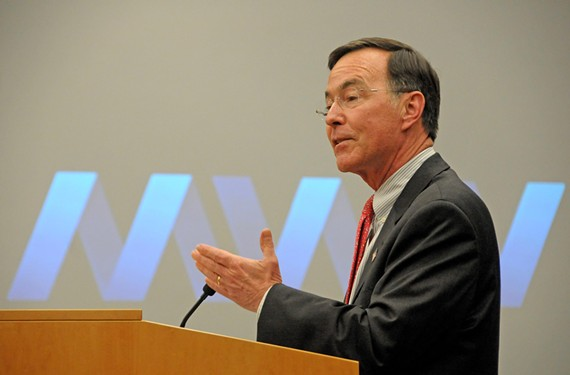 MeadWestvaco Chairman and CEO John A. Luke.