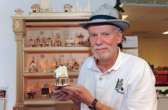 Mechanicsville entrepreneur Glenn Crider is watching his company's keepsake tree ornaments take off.