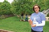 """Meg Medina recently wrote her first young adult novel, """"The Girl Who Could Silence the Wind."""" The book has inspired an empowering Lewis Ginter Botanical Garden exhibit of milagros constructed by students from seven high schools."""