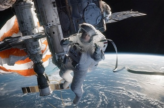 """Mexican filmmaker Alfonso Cuarón (director of """"Children of Men"""") set an October opening weekend record of $55.7 million dollars with the visually stunning, 3-D space thriller, """"Gravity."""""""