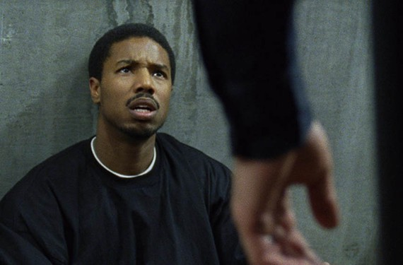 Michael B. Jordan plays Oscar Grant, a young man killed by a Bay Area Rapid Transit officer, in the film that won this year's grand jury prize and audience award at Sundance. - THE WEINSTEIN COMPANY