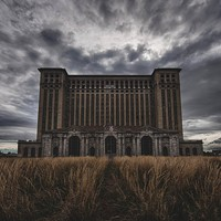Jamie Betts Photography Michigan Central Station in Detroit. Scott Elmquist