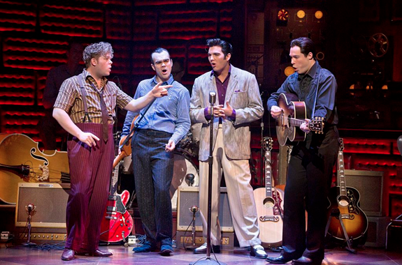 """""""Million Dollar Quartet"""" is the musical inspired by the famed recording session that brought together rock 'n' roll icons Elvis Presley, Johnny Cash, Jerry Lee Lewis and Carl Perkins for the first and only time."""