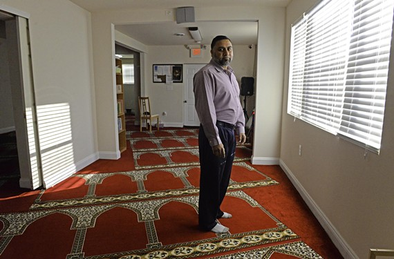 Moeen Kahn, a board member of the West End Islamic Center, is a fan of Islam Life Radio. He says misinformation is Islam's greatest hurdle today. - SCOTT ELMQUIST