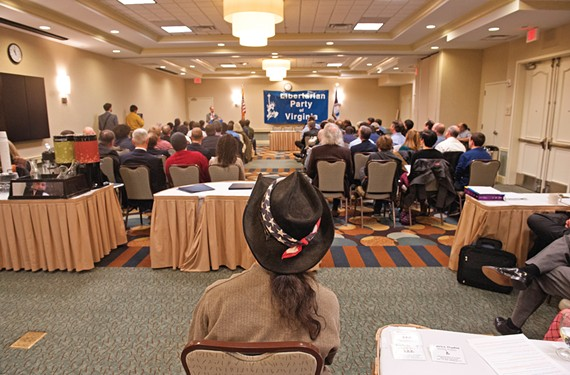 Much of the convention, held at the Hilton Garden Inn Richmond Airport, is about turning attendees into candidates. - SCOTT ELMQUIST