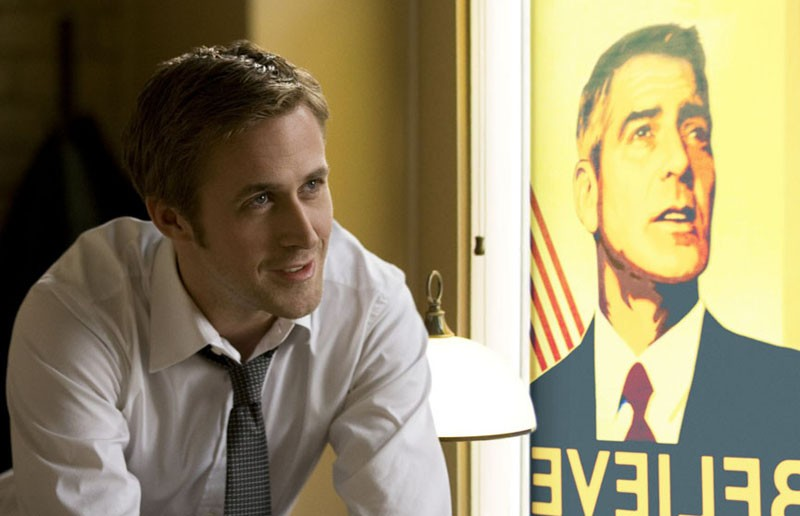 """My guy is slicker than Dapper Dan pomade."" Ryan Gosling is politican George Clooney's campaign organizer in the above-average political thriller ""Ides of March."" - SAEED ADYANI"