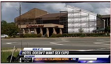 N. Boulevard Motel Says It's Too Good for Sex Expo