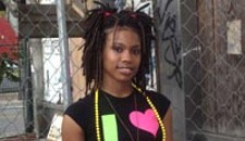 Niya at the Saving Lives Festival