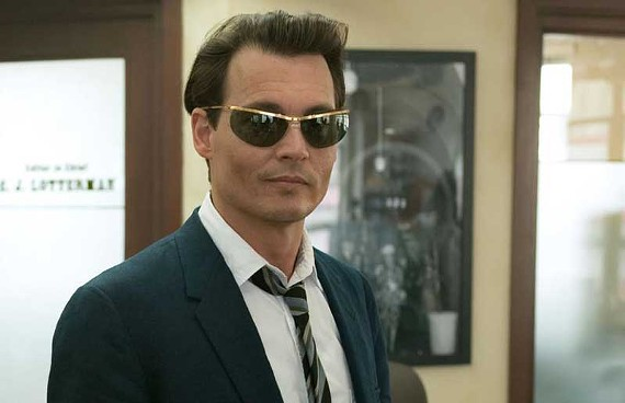 "Not necessarily stoned but beautiful: Johnny Depp channels Hunter Thompson, again, in ""The Rum Diary."" - PETER MOUNTAIN"