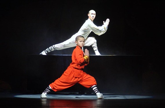 Nov. 8:Shaolin Warriors