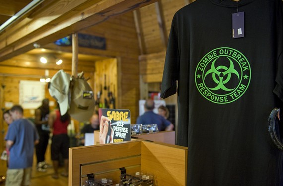 Off-Grid by Design, a store specializing in survival gear, is open on Midlothian Turnpike. It carries things as varied as stun guns and anti-radiation tablets. - ASH DANIEL
