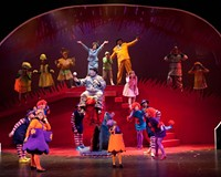 """Oh, the places you'll go: Patrons would enjoy Theatre IV's delightful """"Seussical"""" in a box, with a fox, with a mouse or on a house."""