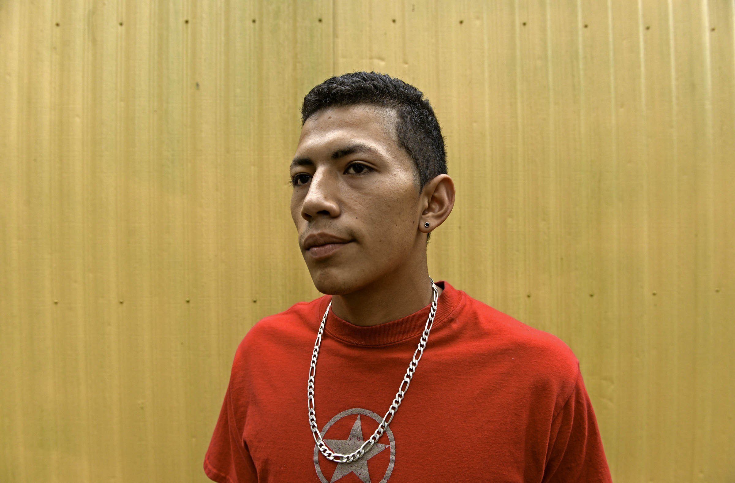 """Omar Zuniga has one overriding concern as he starts a new year at Huguenot High School: """"I'm worried they're going to end up putting me in jail."""" - SCOTT ELMQUIST"""