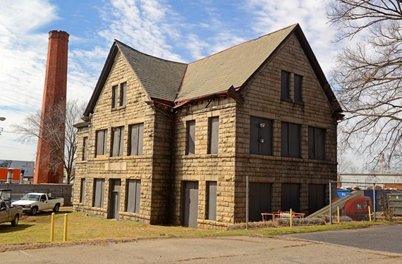 One of the city's important architectural treasures is the original, late 19th century campus of Virginia Union University. A piece of that legacy, a building where industrial arts were once taught, awaits restoration. - SCOTT ELMQUIST