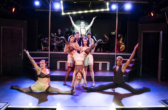 """Oozing easy sexuality and Nazis, the legendary musical """"Cabaret"""" continues at Richmond Triangle Players through July 5."""