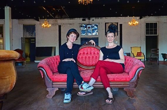 Organizers Charli Brissey and Courtney Harris are briefly taking over the Hofheimer Building in Scott's Addition, home to the future Peter Chang restaurant, and turning it into a gallery and party space.