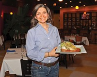Owner Maria Oseguera offers the jumbo lump crab chile rellenos at her Short Pump restaurant, Maya Mexican Grill and Tequila Lounge.