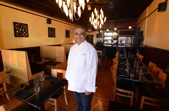 Owner Mel Oza brings a new kind of Indian restaurant to Carytown, with expansion plans in the offing for Curry Craft. - SCOTT ELMQUIST