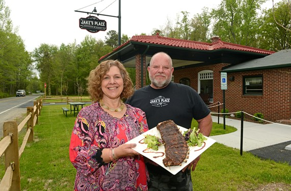 Owners Wendy and John Yohman serve a mean rack of ribs and other Southern favorites at Jake's Place in Ashland.
