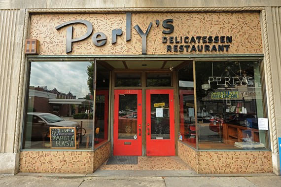 Perly's at the time of its sudden closure in September.