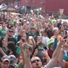 Shamrock the Block in Shockoe Bottom