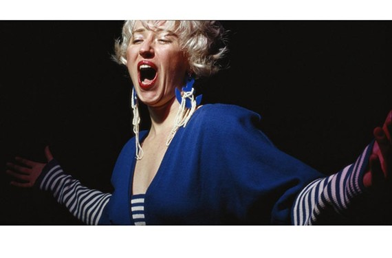 """Photographer Cindy Sherman's """"Untitled #119"""" is one of many thought-provoking works in the Virginia Museum's """"Unreal: Conceptual Photographs from the 1970s and 1980s."""""""
