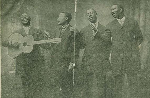 Polk Miller's Famous Old South Quartette