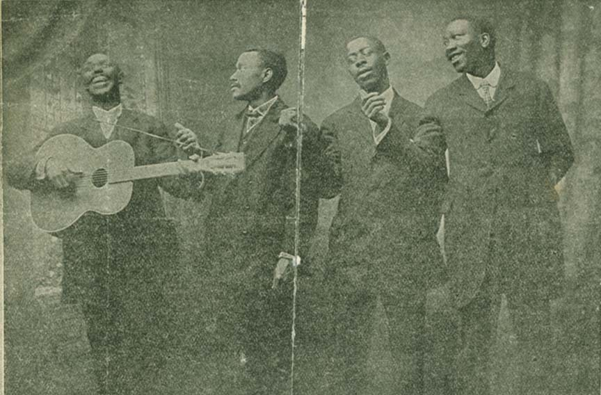 Polk Miller's Famous Old South Quartette