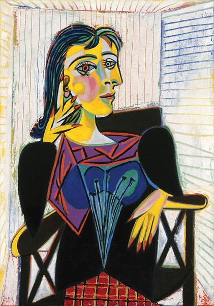 """Portrait of Dora Marr"""