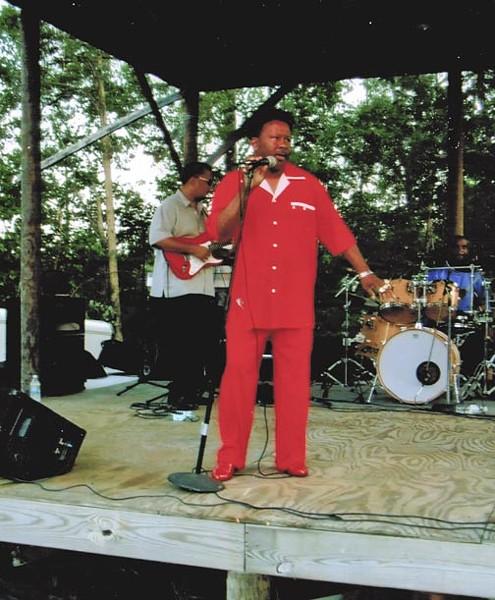 Preston Brown also moonlights as a soul singer. - COURTESY OF PRESTON BROWN