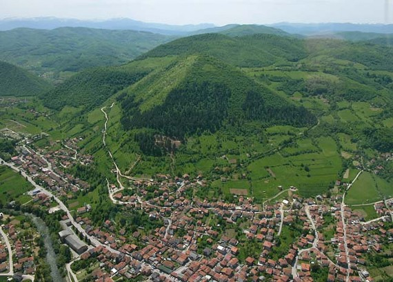 Pyramid of the Moon is located 15 miles outside of Sarajevo in Bosnia and Herzegovina.