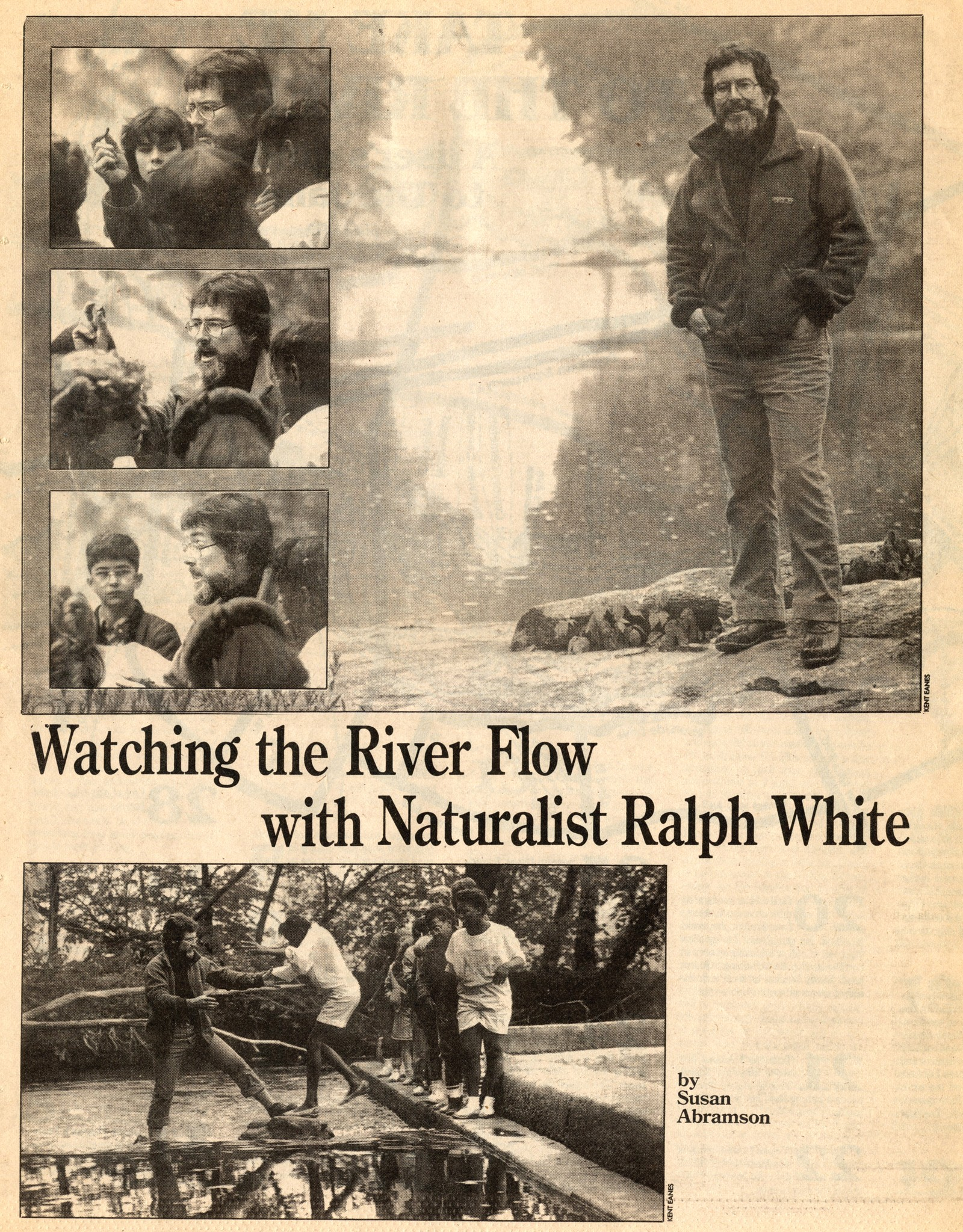 Ralph White has never been shy with the media. He's appeared in Style on multiple occasions, here in May 1986.