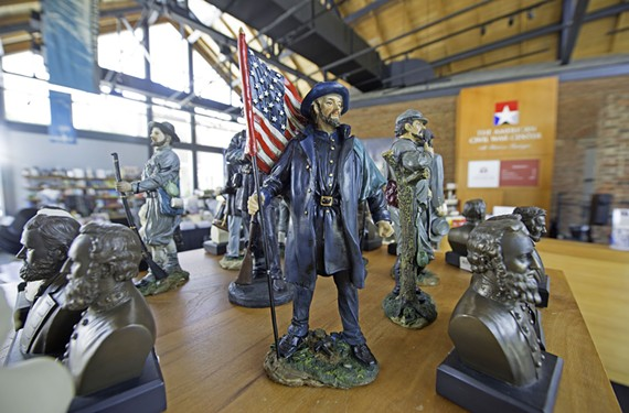 """""""Rather than just winners and losers, 'We're right you're wrong,' I think there's an opportunity for extraordinary civic engagement,"""" co-Chief Executive Christy Coleman says of the new American Civil War Museum. - SCOTT ELMQUIST"""