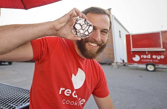 Red Eye Cookies owner Brayden Pleasants wants to bring you milk and cookies — whatever time you get a craving.