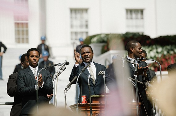 "Relative newcomer David Oyelowo does a brilliant job portraying Civil Rights leader, Martin Luther King Jr., in the powerfully effective ""Selma"" now playing in numerous Richmond theaters."