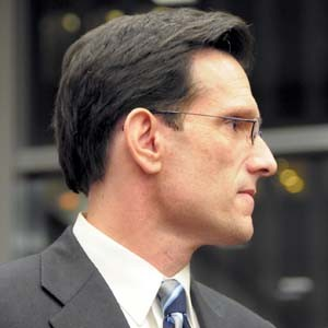 Republican Eric Cantor is poised to become the new majority leader in the House of Representatives.  File photo by Scott Elmquist