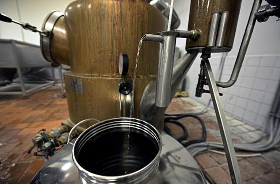 Reservoir uses an old-fashioned pot distiller to make its award-winning whiskey. - SCOTT ELMQUIST