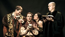 "Review: Henley St. Theatre and Richmond Shakespeare's ""Wittenberg"""