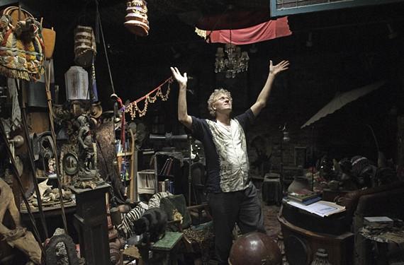 Richard Bland experienced a powerful awakening inside his cavernous Fan home. - SCOTT ELMQUIST